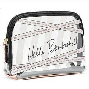 New Victoria's Secret Hello Bombshell Cosmetic Bag